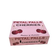 Custom Cherry Box Fruit Packaging