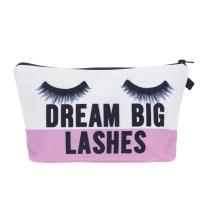 2020 New Hot Sale Custom Women Clutch Eyelashes Makeup Bag