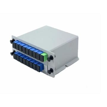 1 16 1 32 FTTH Fiber Optic Lgx Box Plc Splitter
