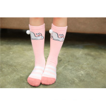 Lovely Chirldren algodón calcetines calcetines de buena calidad para Kid Bear y calcetines de conejo Cozy Patterns