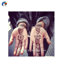 Hand Henna stencil Sticker Tattoo,temporary body tattoo with eco-friendly material