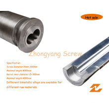 Bimetallic Screw Barrel Bimetal Twin Parallel Screw Cylinder