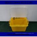 Melee Kunststoff Deckel Container Box mit Griffleiste