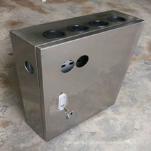 Industrieausrüstung Schild Alumium Blechverteiler