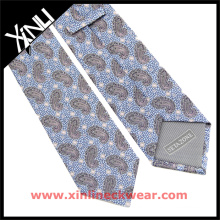 Fabricante chino Hombres Diseñador guapo Brown Paisley Lazos