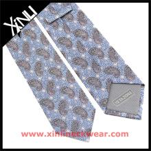 Homens chineses do fabricante considerável desenhista Brown Paisley Gravatas