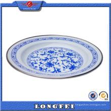 Os melhores produtos de venda 16-26cm barato China esmalte prato