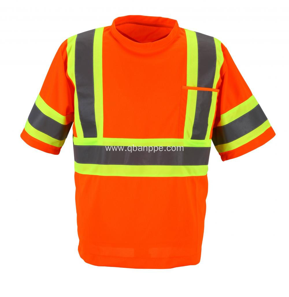 high light reflective safety new design tshirt