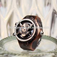 2016 Fashion Last Ring Watch Punk Ring Watch Anneau de doigt d'animal de compagnie Produit de gros JZB012