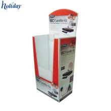 Boîte de vidage de panier de stockage pliable en carton recyclable de cube