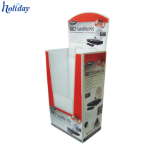Recipiente de cartão dobrável de armazenamento dobrável de papelão reciclável