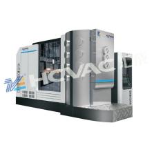 Máquina de revestimento sanitária da máquina da metalização do vácuo dos mercadorias / acessórios PVD da mobília