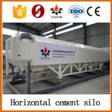 Silo de cimento horizontal de 35 toneladas, silo horizontal de cimento 40HQ