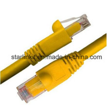 CAT6A Snagless Unshielded UTP Network Patch Cable 10 Gigabit Yellow