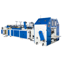 Máquina automática para fabricar bolsas laterales de sellado en caliente y corte en caliente