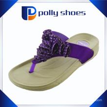 Comfortable Wide Strap for Girls High Heel Slipper