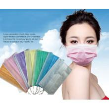 Fabrik Maske Einweg Vlies 3ply Surgical Gesichtsmaske