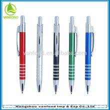 New products 2015 office stationery personalised metal short pens