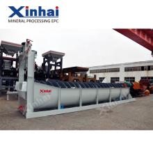 Clasificador de alta eficiencia de procesamiento de mineral de mineral de mina, concentrador de espiral de minería