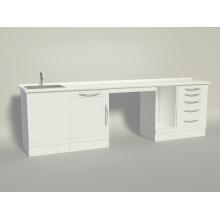 "Серия ""Fire"" (2,5 метра B) Комбинационный шкаф"