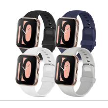 Bpa-freie Silikon-Apfel-Ersatzbänder