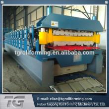 Высококачественный рулонный станок для формовки двойного слоя 840/900, изготовленный в Китае
