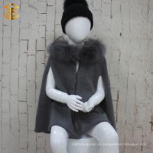 La nueva capa del capote de los cabritos del estilo de Europa del invierno del otoño de la manera cubre la capa del cabo de las muchachas