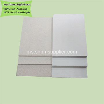 Fireproof No-formaldehid Interior Wall Panel MgO Board