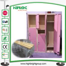Casier en acier de Cabinet de stockage pour le vestiaire
