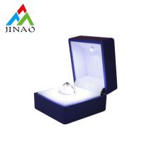 Luxury wedding ring box with LED light