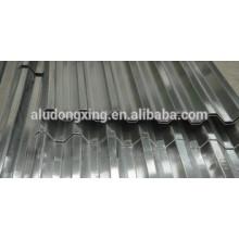 Feuille / plaque en aluminium ondulé 5154