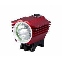 Una linterna de la luz de la bicicleta del CREE LED