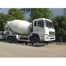 Euro III or Euro IV 12m3 mobile concrete mixer truck for sale, 6x4 concrete mixer truck for sale