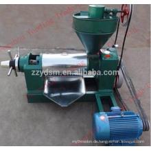 6YL-80 Sojabohnenölpresse Maschine mit 5,5 kW Motor 100 kg / h