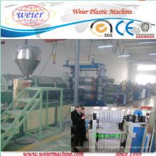 Linha de extrusão de borda de PVC com impressão em três cores
