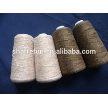 factory various colors stock lot 2/24NM 100% wool yarn for knitting