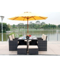Villa Outdoor Table Well Used Patio Furniture