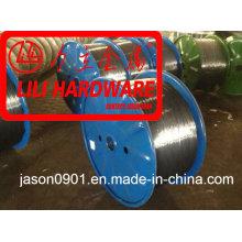 Fio de aço / arame de zinco / fio de temperamento de óleo / fio de esferoidização / fio de aço inoxidável