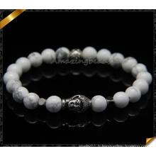 Perles Turquoise Blanc Bracelets De Mode Vente en gros (CB089)