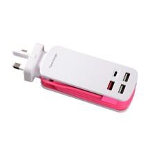Bande d'alimentation électrique portable pour voyager