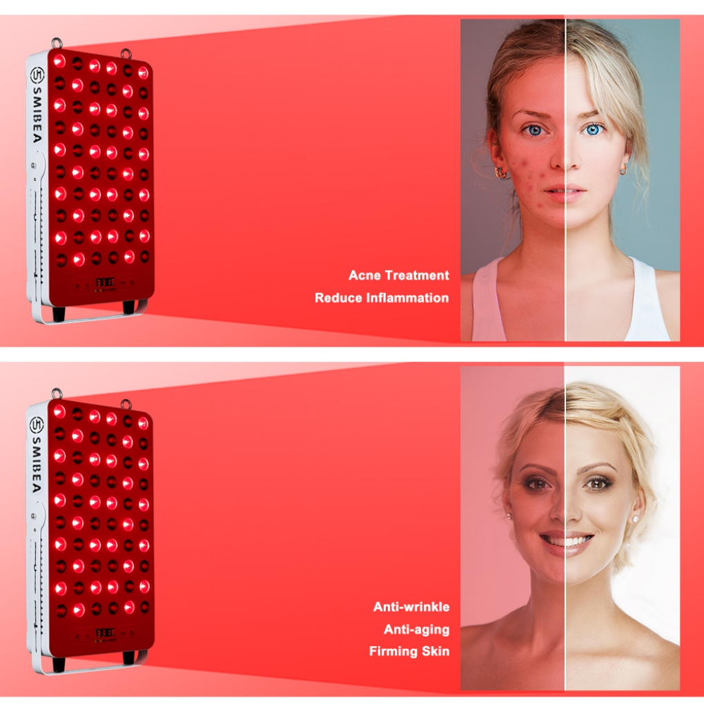 Facial Red Light Therapy