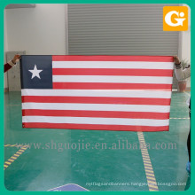 High Quality Logo Printing state flag red white and blue