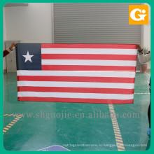 Высокое качество логотип печать государственный флаг красный белый и синий