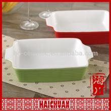 Art und Weiseentwurfs-keramische runde blaue Backenware mit Silikondeckel Lunchkasten-Schließfachschüssel Japanische Nudelschüssel