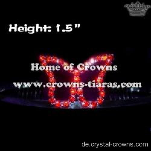 Red Crystal Princess Tiaras