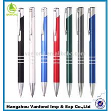 высокое качество, лучшие продажи металла перо от завода ручка с логотипом печати