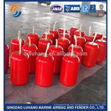 Flotador de espuma de poliuretano con relleno de EVA marino color naranja