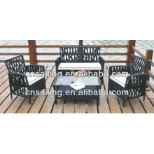 All Weather Wicker New Design High Quality outdoor rattan furniture Sectional Sofa Furniture