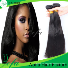 Unverarbeitete Straight Virgin Hair Remy Indisches Menschenhaar