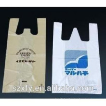 Custom PE Printed T-Shirt PlasticBag for Supermarket